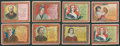 "Non-Sport Cards:Lots, 1909-10 T112 Mogul Cigarettes ""Toast Series"" Collection (20). ..."