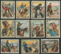 "Non-Sport Cards:Sets, 1911 T53 ""Cowboy Series"" Complete Set (49). ..."