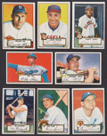 Baseball Cards:Lots, 1952 Topps Baseball Collection (80 Different)....