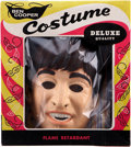 Music Memorabilia:Memorabilia, Beatles Vintage Halloween Costume, Complete with John LennonMask.... (Total: 2 Items)