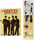Music Memorabilia:Memorabilia, Beatles Coloring Book and Splatter Toy.... (Total: 2 Items)