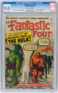 Silver Age (1956-1969):Superhero, Fantastic Four #12 (Marvel, 1963) CGC VF/NM 9.0 Off-white to whitepages....