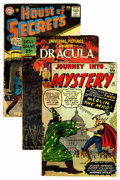 Silver Age (1956-1969):Miscellaneous, Miscellaneous Silver Age Comics Group (Various Publishers, 1958-63)Condition: Average GD.... (Total: 8 Comic Books)