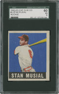 Baseball Cards:Singles (1940-1949), 1948-49 Leaf Stan Musial #4 SGC 60 EX 5....