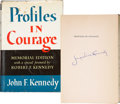 Movie/TV Memorabilia:Autographs and Signed Items, Jackie Kennedy Signed Profiles in Courage....