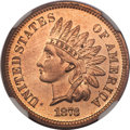 Proof Indian Cents, 1873 1C Closed 3 PR66 Red NGC....
