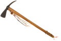 Movie/TV Memorabilia:Props, Wes Studi's Prop Tomahawk from Last of the Mohicans....(Total: 3 )