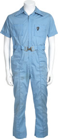 "Music Memorabilia:Costumes, Elvis Presley Football Jumpsuit Worn by ""Memphis Mafia"" Member...."