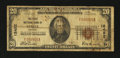 National Bank Notes:Missouri, Steele, MO - $20 1929 Ty. 1 The First NB Ch. # 12452. ...