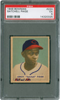 Baseball Cards:Singles (1940-1949), 1949 Bowman Satchell Paige #224 PSA EX 5....