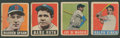 Baseball Cards:Lots, 1948-49 Leaf Baseball Collection (24) With Ruth and DiMaggio!...