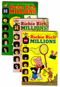 Bronze Age (1970-1979):Humor, Richie Rich Millions Silver/Bronze/Modern Group (Harvey, 1968-82) Condition: Average NM-.... (Total: 48 Comic Books)