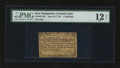 Colonial Notes:New Hampshire, New Hampshire June 28, 1776 4s PMG Fine 12 NET....