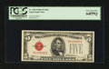 Small Size:Legal Tender Notes, Fr. 1530 $5 1928E Mule Legal Tender Note. PCGS Very Choice New 64PPQ.. ...