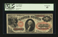 Large Size:Legal Tender Notes, Fr. 19 $1 1874 Legal Tender PCGS Extremely Fine 45....