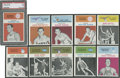 Basketball Cards:Lots, 1961-62 Fleer Basketball Group of (10)....