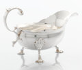 Silver Holloware, British:Holloware, A GEORGE II SILVER SAUCEBOAT. Walter Brind, London, England,1755-1756. Marks: (lion passant), (leopard's head crowned),W...