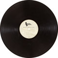 Music Memorabilia:Recordings, Jimi Hendrix's Personal Copy Band of Gypsys LP Acetate(Sterling Sound, 1970)....