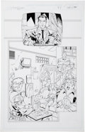 Original Comic Art:Panel Pages, Ron Adrian Witchblade #35 page 20 and 21 Original Art(Image, 1999).... (Total: 2 Items)