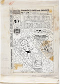 Original Comic Art:Covers, Warren Kremer Richie Rich Inventions #18 Cover Original Art(Harvey, 1981)....