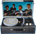 Music Memorabilia:Memorabilia, Beatles Vintage Record Player....