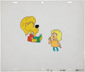 Animation Art:Production Cel, Super Chicken Animation Production Cel Original Art Group(Jay Ward, 1967).... (Total: 3 Items)