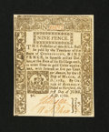 Colonial Notes:Connecticut, Connecticut June 1, 1780 9d Choice New....