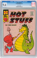 Silver Age (1956-1969):Humor, Hot Stuff, the Little Devil #4 File Copy (Harvey, 1958) CGC NM+ 9.6 Off-white pages....