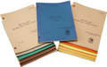 Movie/TV Memorabilia:Documents, The Fall Guy Television Script Collection.... (Total: 20 )