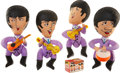 Music Memorabilia:Memorabilia, Beatles Vintage Inflatable Dolls with Bath Soap.... (Total: 5 )