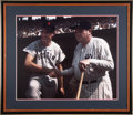 Autographs:Photos, Ted Williams Signed Photograph with Babe Ruth. ...