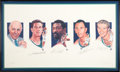 Basketball Collectibles:Others, Boston Celtics Legends Multi-Signed Lithograph....