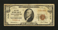 National Bank Notes:Kentucky, Williamsburg, KY - $10 1929 Ty. 1 The First NB Ch. # 7174. ...