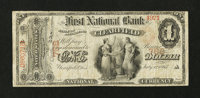 Clearfield, PA - $1 Original Fr. 380 The First NB Ch. # 768