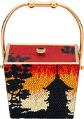 "Estate Jewelry:Purses, Austrian Crystal, Yellow Metal, ""Chinese Take-Out"" Evening Bag,Kathrine Baumann. ..."