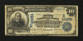 National Bank Notes:Pennsylvania, Nesquehoning, PA - $10 1902 Date Back Fr. 620 The First NB Ch. #(E) 10251. ...