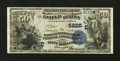 National Bank Notes:Pennsylvania, Pittsburgh, PA - $50 1882 Date Back Fr. 563 The Bank of PittsburghNA Ch. # (E)5225. ...