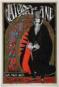 "Music Memorabilia:Posters, Jefferson Airplane ""Edwardian Ball"" Fillmore Concert Poster(Berkeley Bonaparte, 1967)...."