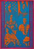 Music Memorabilia:Posters, Big Brother and the Holding Company Neon Rose Concert Poster NR-3(1967)....