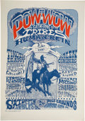 Music Memorabilia:Posters, Pow-Wow a Gathering of the Tribes Human Be-In Event Poster(Berkeley Bonaparte, 1967)....
