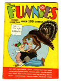 Platinum Age (1897-1937):Miscellaneous, The Funnies #3 Lost Valley pedigree (Dell, 1936) Condition: VG+....