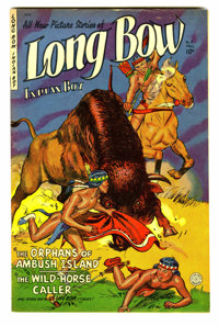 Long Bow #8 (Fiction House, 1952) Condition: VF
