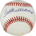 Autographs:Baseballs, Ted Williams Signed Baseball....