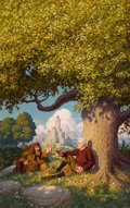 Paintings, GREG HILDEBRANDT (American b. 1939) and TIM HILDEBRANDT (American 1939 - 2006). J .R. R. Tolkien: Architect of...