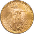 Saint-Gaudens Double Eagles, 1925-D $20 MS64 PCGS. CAC....