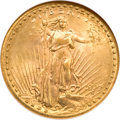 Saint-Gaudens Double Eagles, 1927-S $20 MS63 NGC. CAC....