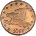 Patterns, 1855 1C Flying Eagle Cent, Judd-170a, R.8, PR64 PCGS....