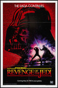 "Movie Posters:Science Fiction, Revenge of the Jedi (20th Century Fox, 1982). One Sheet (27"" X41""). Advance Dated Style. Science Fiction.. ..."