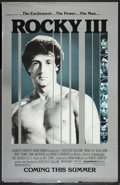 "Movie Posters:Sports, Rocky III (United Artists, 1982). Mylar One Sheet (26"" X 41"") Advance. Sports.. ..."