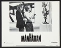 "Movie Posters:Comedy, Manhattan (United Artists, 1979). Lobby Card Set of 8 (11"" X 14""). Comedy.. ... (Total: 8 Items)"